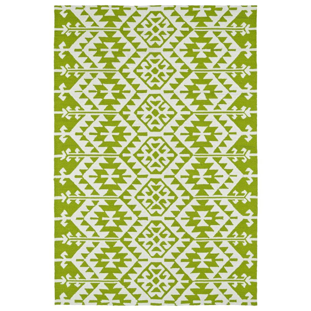 Kaleen Habitat Lime Green 8 Ft X 10 Ft Indoor Outdoor