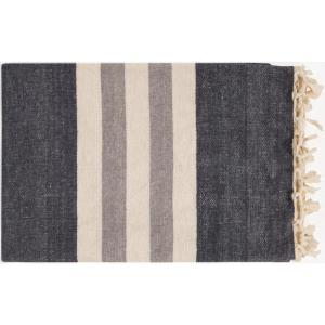 Mack Charcoal Throw Blanket