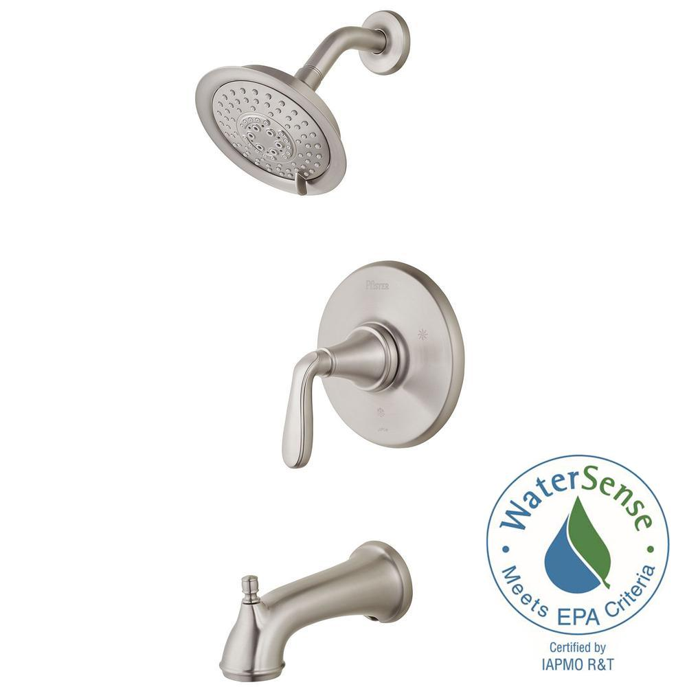 Pfister Northcott Single-Handle Tub and Shower Faucet Trim Kit in ...