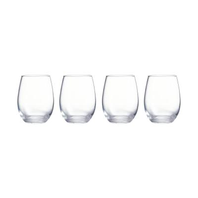 StyleWell 21 oz. Stemless Wine Glasses (Set of 4)