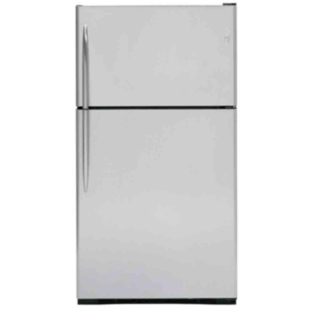 GE Profile 24.6 cu. ft. Top Freezer Refrigerator in Stainless Steel