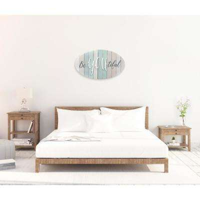 "22 in. W x 13 in. H ""BeYOUtiful"" by KLB Printed Wall Art"