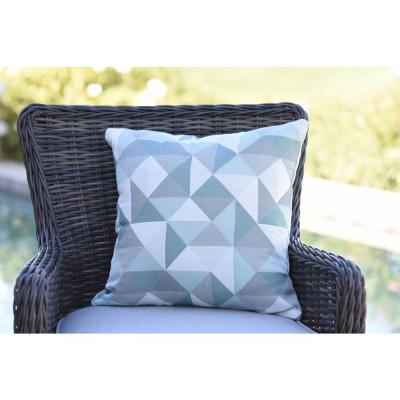 Ruskin Lakeside Square Outdoor Accent Throw Pillow