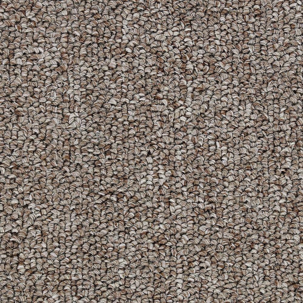 Bottom Line Base - Color Mocha Tan 12 ft. Carpet