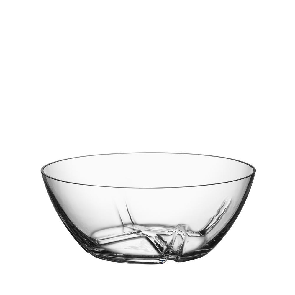 Kosta Boda Bruk Medium and Large Serving Bowl (Set of 2)