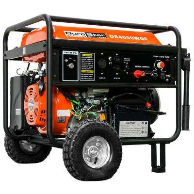 3, 500-Watt 210 Amp Gasoline Powered Portable Generator Welder with Electric Start