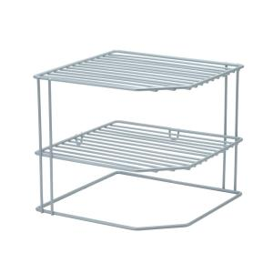 Kitchen Details Corner Shelf Organizer In Grey 24127 Grey