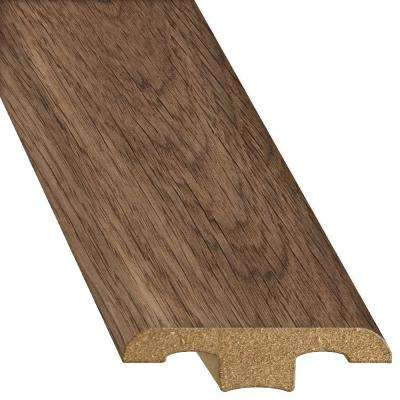 Oak Truffle 1/2 in. Thick x 1-3/4 in. Wide x 94-1/4 in. Length Laminate T-Molding