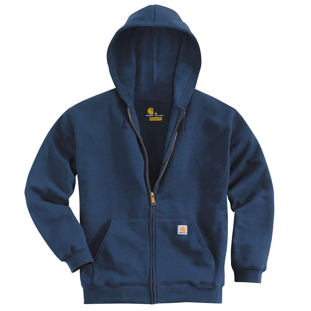 Carhartt Men's Regular X Large New Navy Cotton/Polyester  Sweats