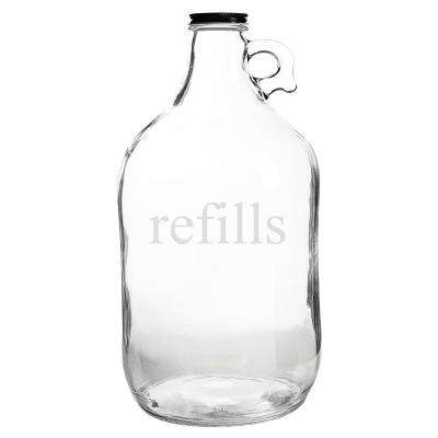 Refills 64 oz. Glass Growler