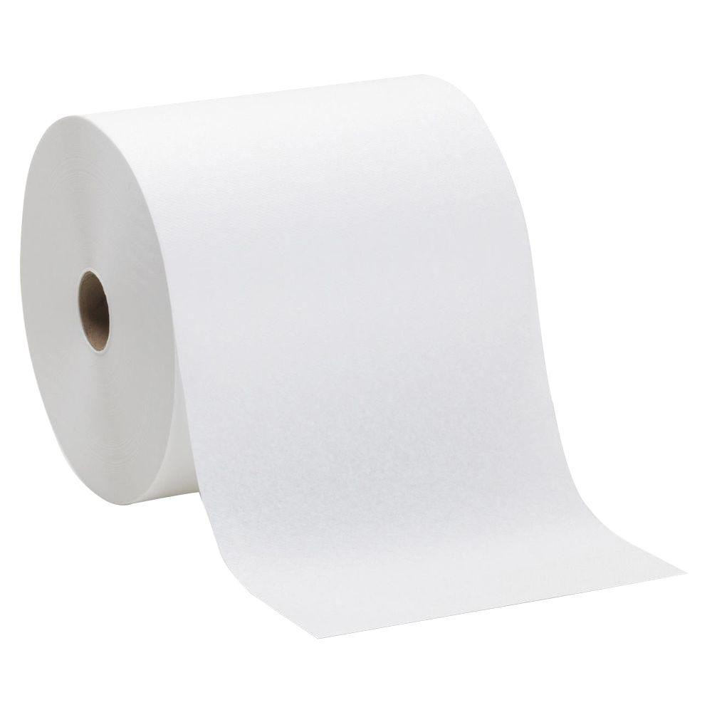 SofPull White Hardwound Roll Paper Towels (6 per Carton)