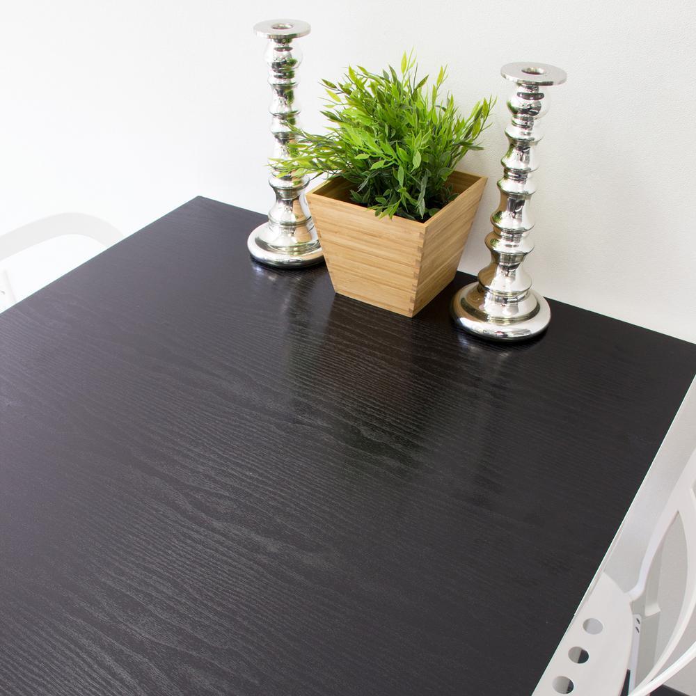 dc fix black wood adhesive film set of 2 t346 0034 the home depot. Black Bedroom Furniture Sets. Home Design Ideas