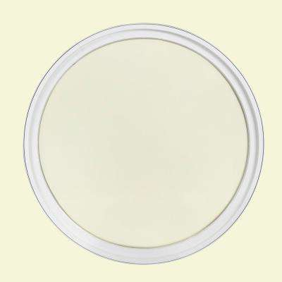 30 in. x 30 in. Round White 4-9/16 in. Jamb Geometric Aluminum Clad Wood Window
