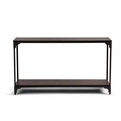 Nantucket Walnut Brown Console Table