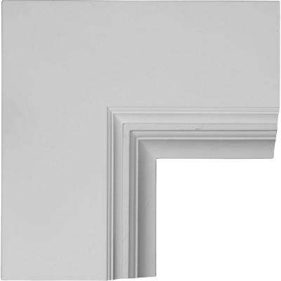 14 in. Perimeter Inside Corner for 8 in. Deluxe Coffered Ceiling System