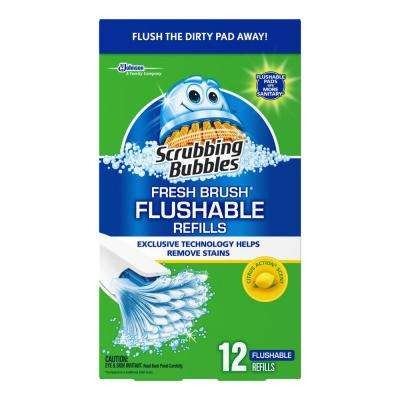 12 count Fresh Brush Flushable (Case/12)