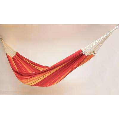 14 ft. 7 in. Cotton/Poly Blend Hammock in Lava Red