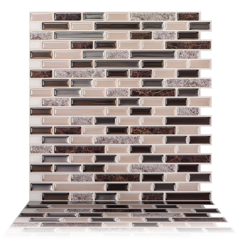 Tic Tac Tiles Como Crema 12 In W X 12 In H Peel And Stick Decorative Mosaic Wall Tile Backsplash 10 Tiles Hd Brs51 10 The Home Depot,Orange True Color Personality Test