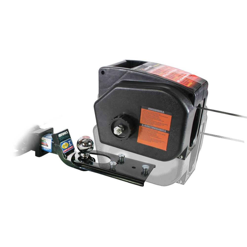 Warn 1000 Lbs 120 Volt Ac Utility Winch 80010 The Home Depot H1000ac Wiring Diagram 2000 Portable 12vdc With Rapid Mount