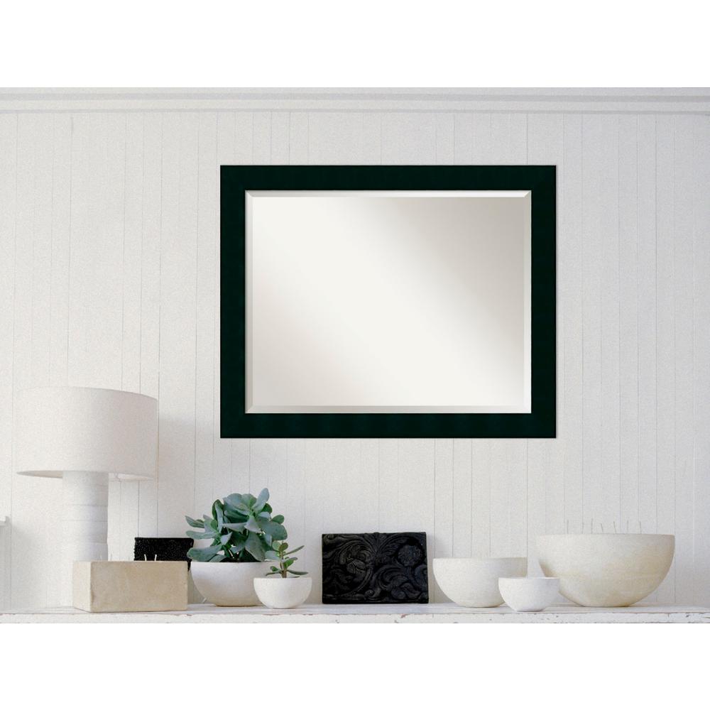 Martha Stewart Living Champlain 66 in. x 32 in. Black Coffee Framed ...