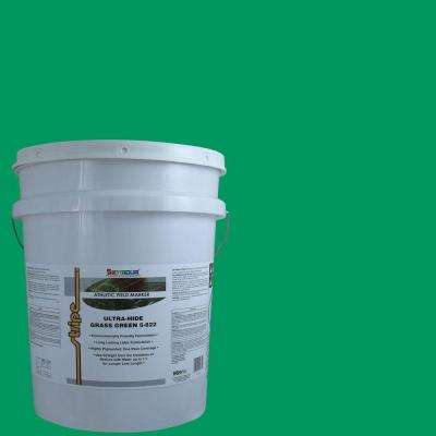 5 gal. Grass Green Stripe Bulk Athletic Field Marking Paint