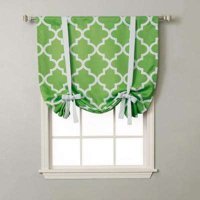Moroccan 42 in. W X 63 in. L Drapery Panel in Green