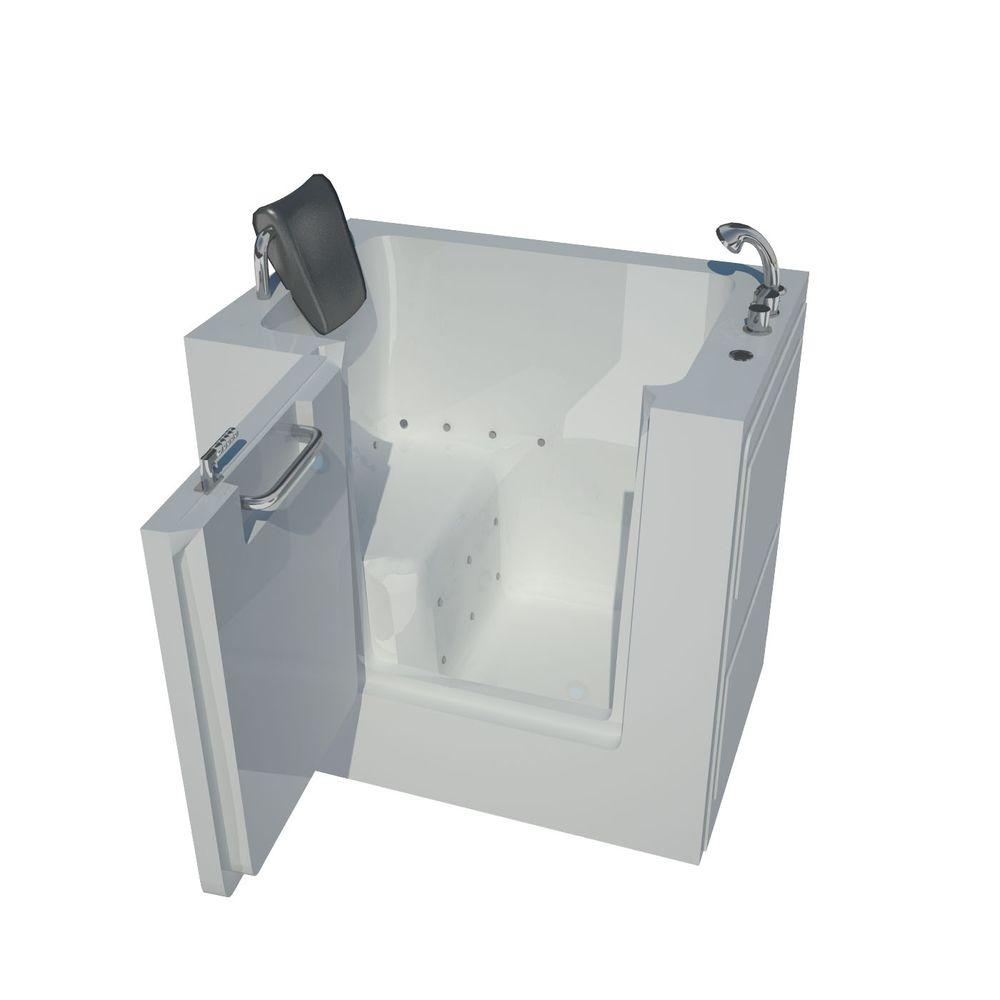 Hydroflame Pro Series Tub Box: Universal Tubs HD Series 40 In. Right Drain Quick Fill