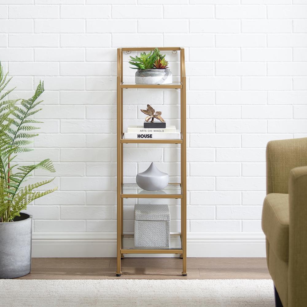 Crosley Furniture Aimee Soft Gold Short