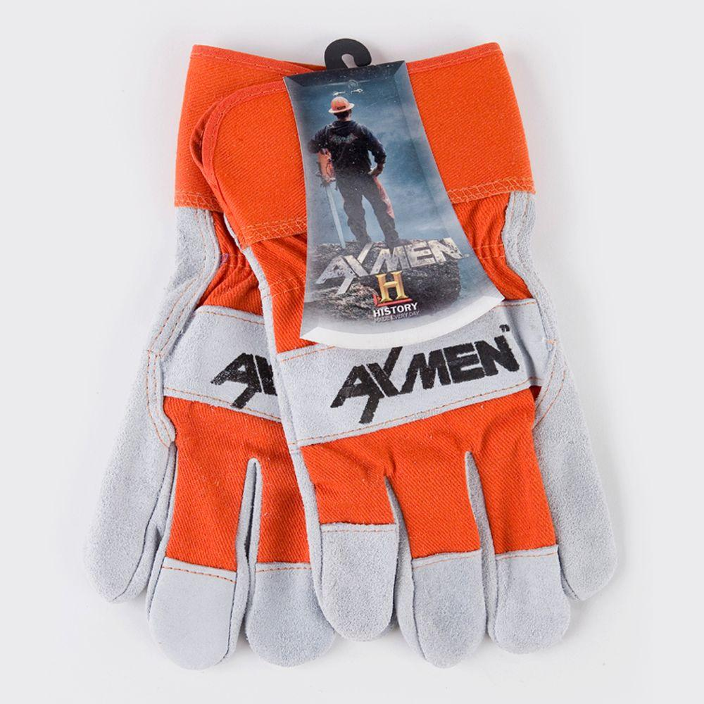 AX MEN Leather Palm Work Gloves-DISCONTINUED