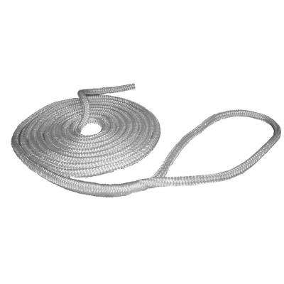 3/8 in. x 15 ft. Pre-Spliced Dock Line, White