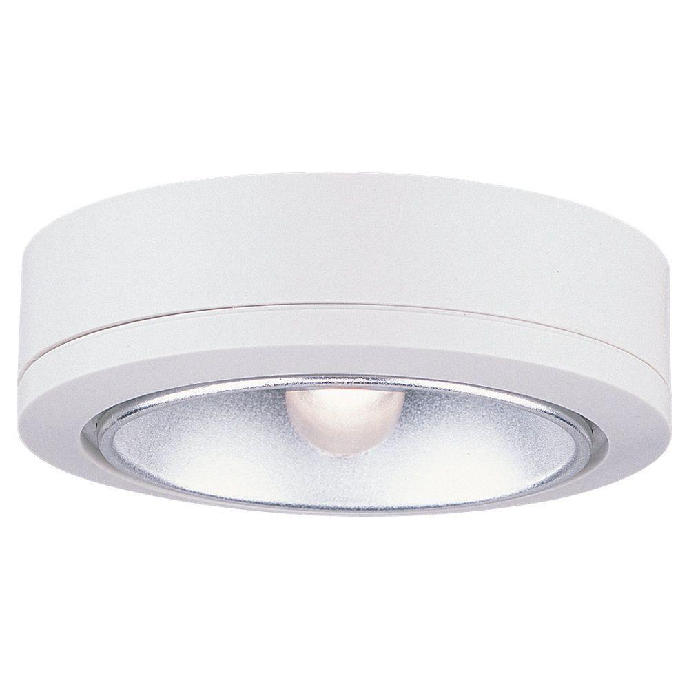 Sea Gull Lighting Ambiance White Xenon 40 Degree Beam Task Disk Light