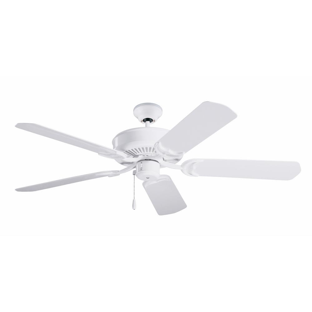 Sea Breeze 52 in. LED Indoor / Outdoor Appliance White Ceiling
