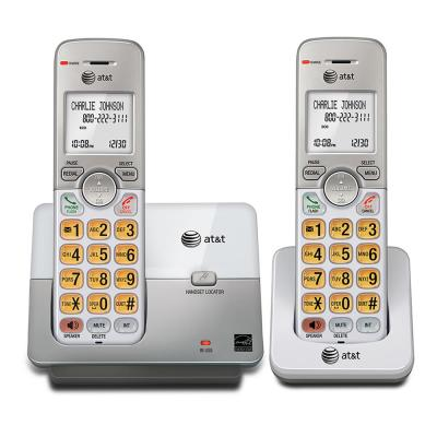 2 Handset Cordless Phone System with Caller ID and Call Waiting