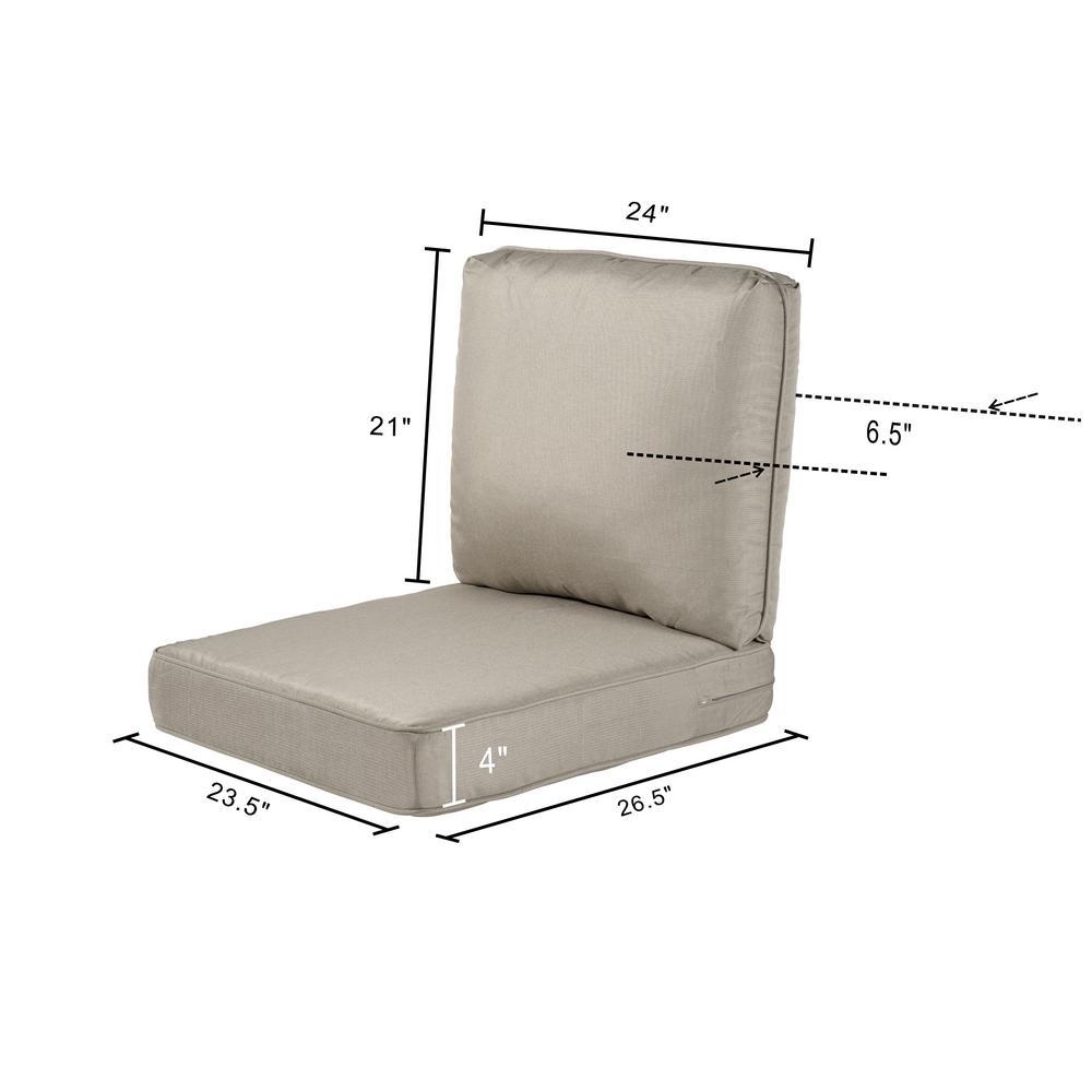 23 25 X 27 Outdoor Lounge Chair Cushion