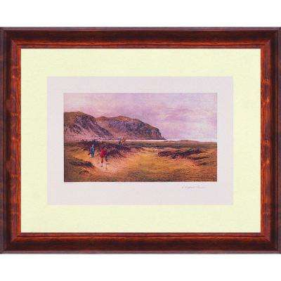 19.25.in x 27.in''A Difficult Bunker'' By PTM Images Framed Printed Wall Art