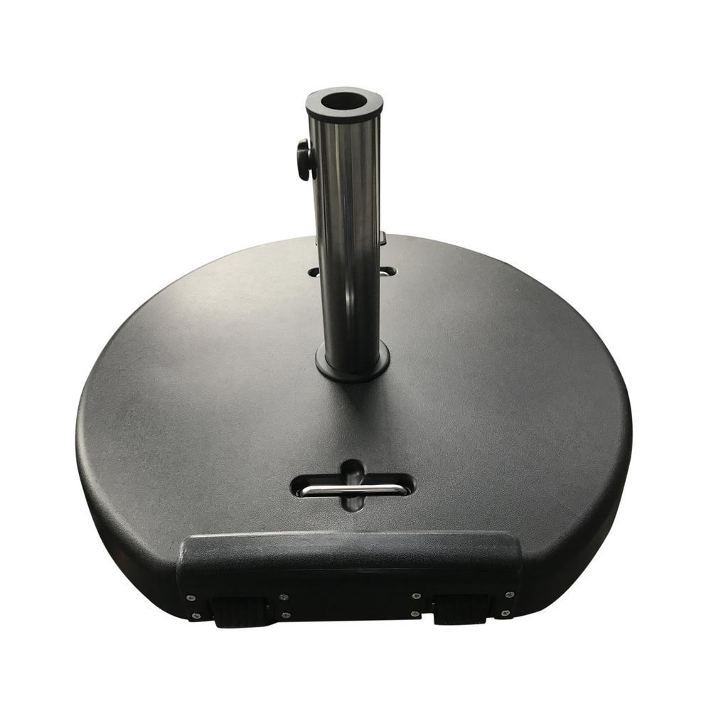 Mota 120.37 lbs. Concrete Patio Umbrella Base in Black
