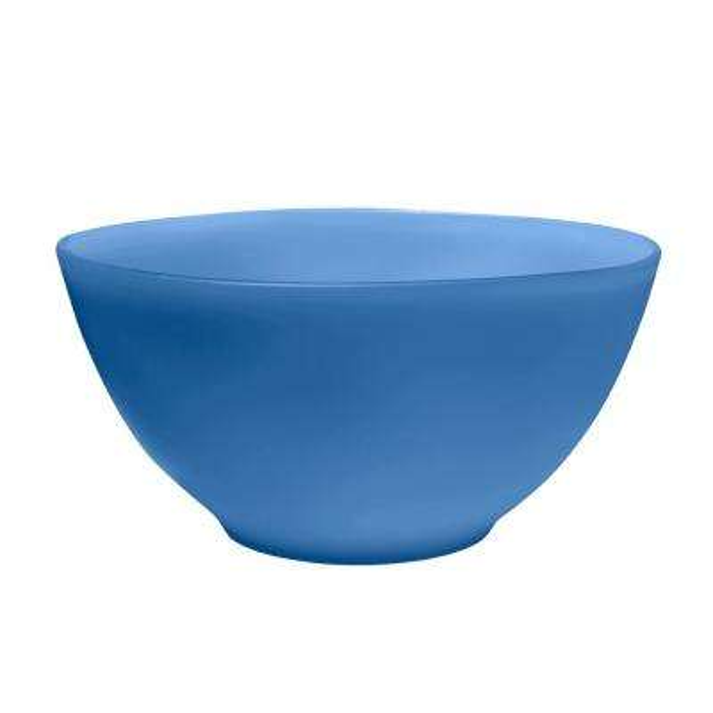 Sea Glass Serve Bowl Navy (Set of 1)
