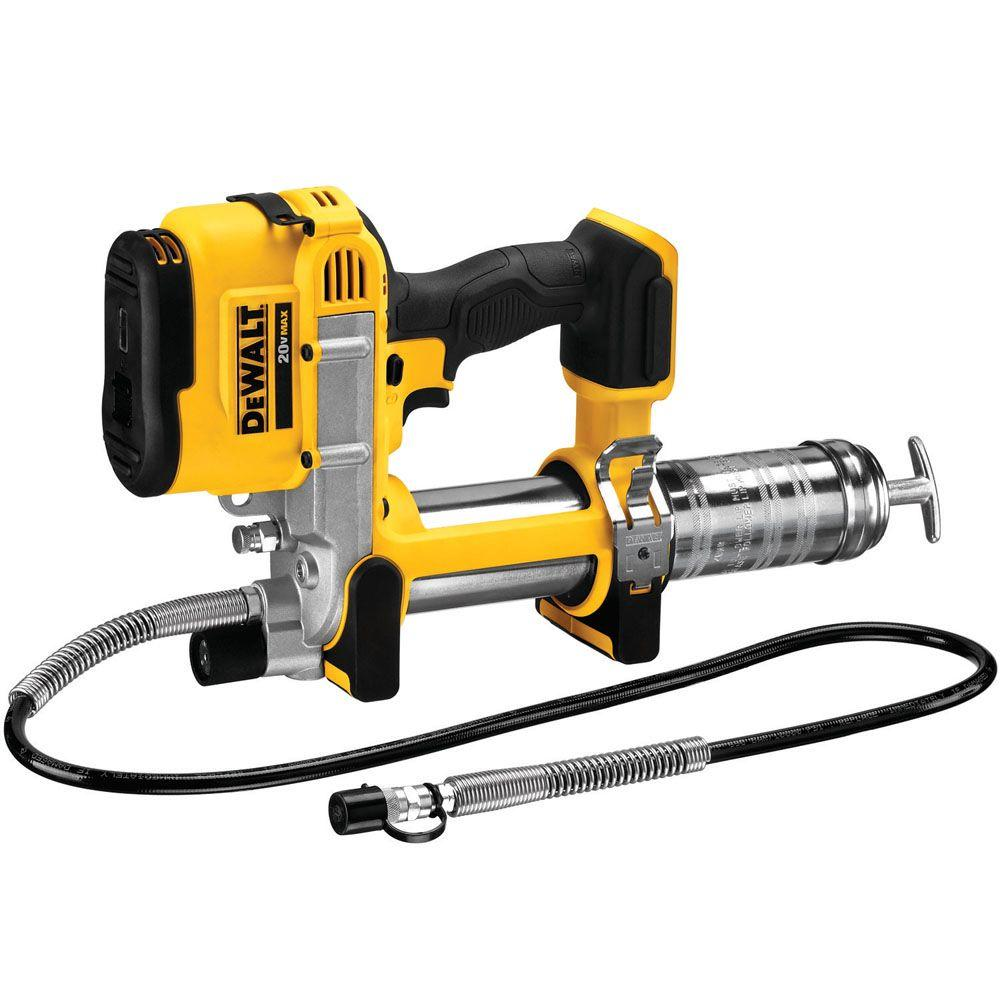 Dewalt 20 Volt Max Cordless Grease Gun Tool Only