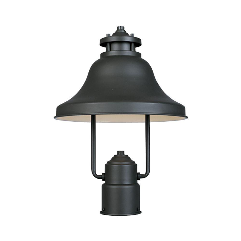 Bayport Outdoor Bronze Post Lantern