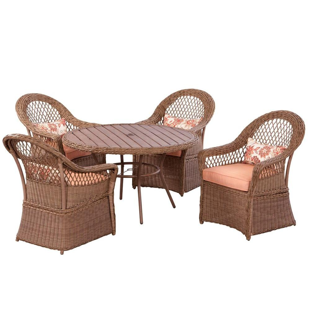 Martha Stewart Living Sanibel 5-Piece Patio Dining Set-DISCONTINUED