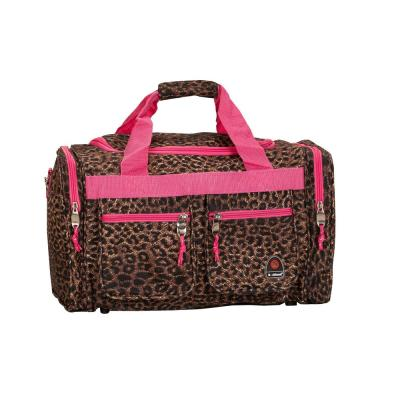 Rockland Freestyle 19 in. Tote Bag, Pinkleopard