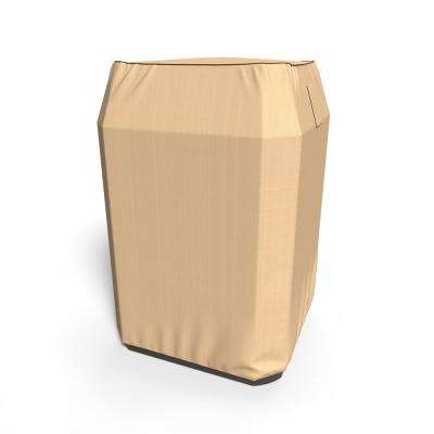 Rust-Oleum NeverWet 34 in. W x 34 in. L x 30 in. H Tan Outdoor Square AC Cover