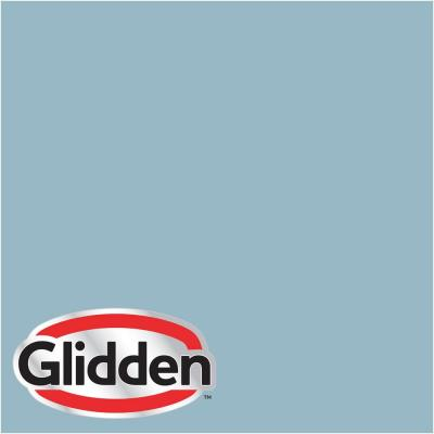Glidden Premium 5 gal. #HDGB50 Soft Rococo Blue Satin Interior Paint with Primer