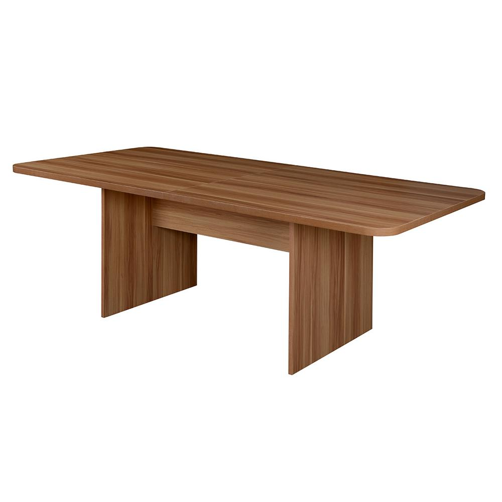 Mod Warm Cherry No Tools Assembly 7 ft. Conference Table-NCT8442WC ...