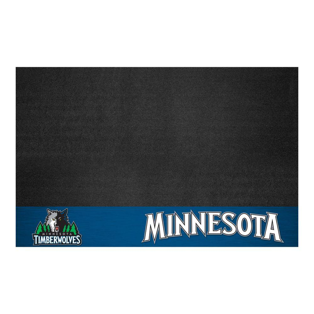 FANMATS Minnesota Timberwolves 26 in. x 42 in. Grill Mat