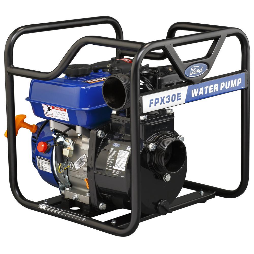 7 HP Gas Powered 3 in. Semi Trash Water Pump
