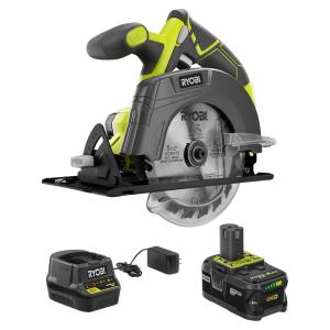 Deals on Ryobi One P505 18V 5-1/2 in Circular Saw w/Battery & Charger