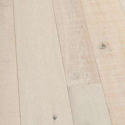 Take Home Sample - French Oak Santa Monica Engineered Click Lock Hardwood Flooring - 5 in. x 7 in.