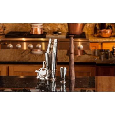 Stainless Steel Crafthouse Shaker Set