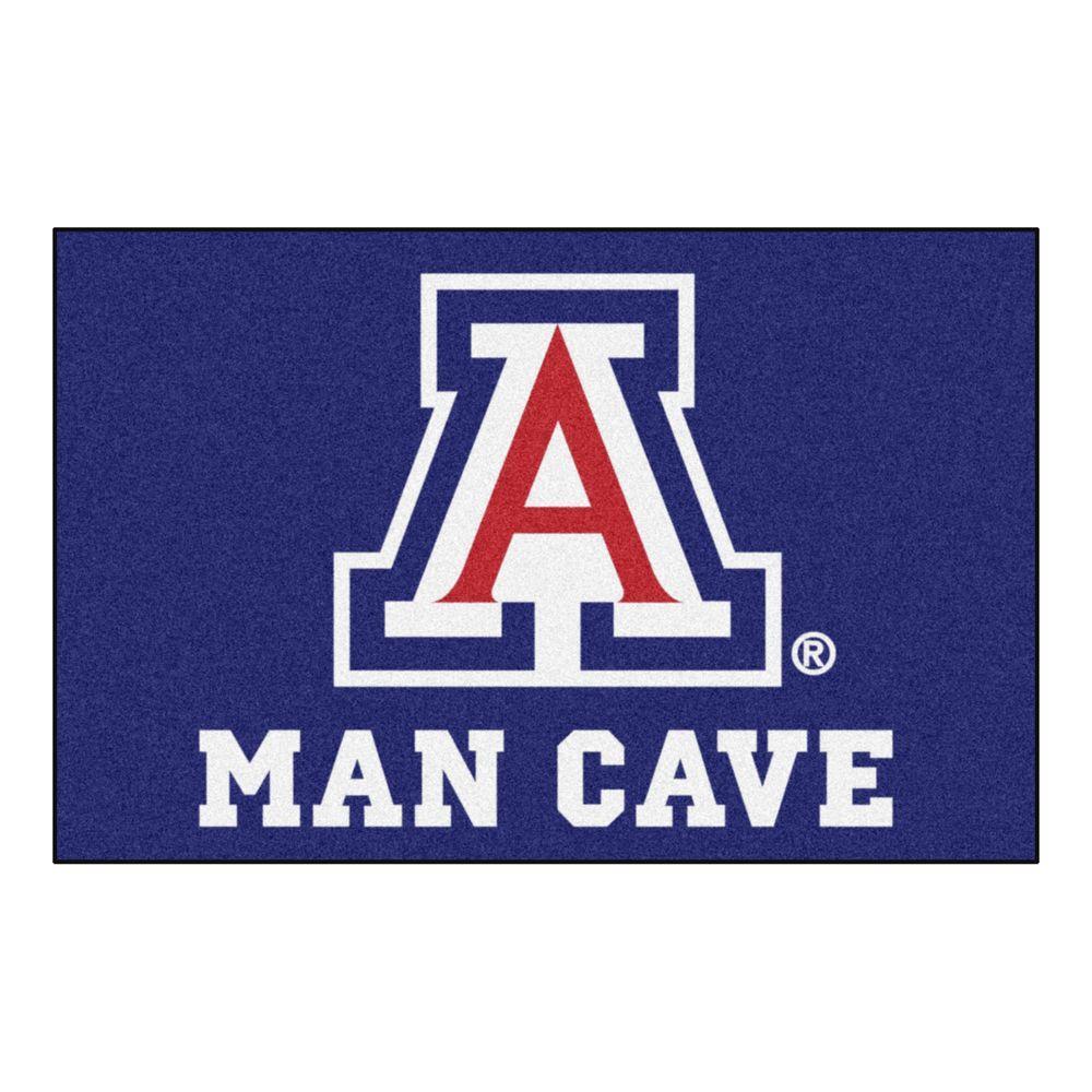FANMATS NCAA University of Arizona Wildcats Vinyl Door Mat 11945